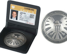 NYCC Exclusive Agents of SHIELD Phil Coulson Badge and ID Pre-Order!