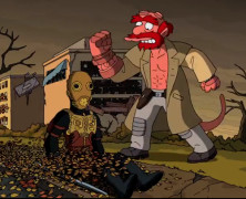 Movie References Abound in Guillermo Del Toro's Couch Gag for The Simpsons