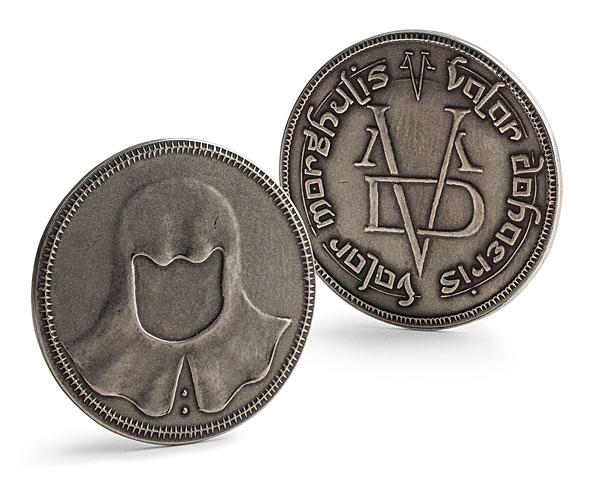 coin of the faceless man