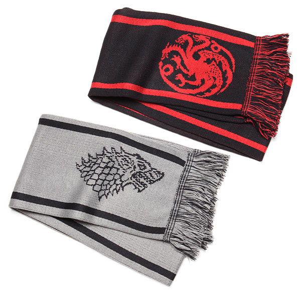 game of thrones scarves