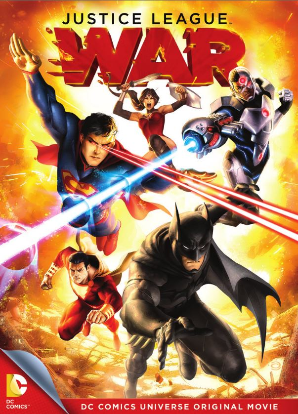 justice league war box art