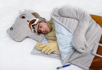 taun taun sleeping bag