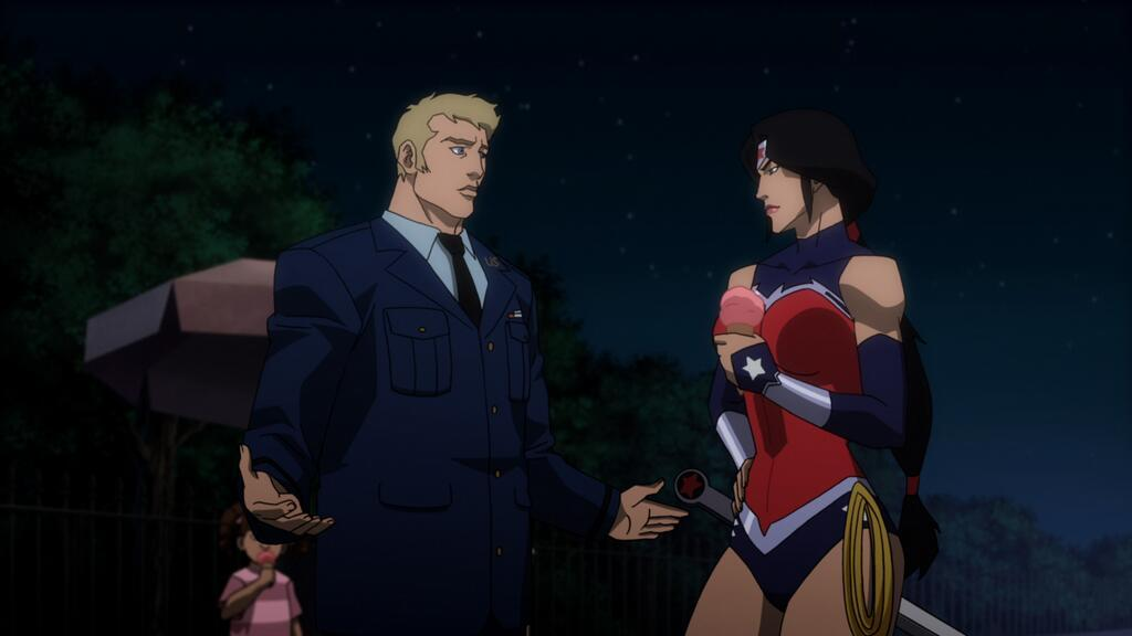 wonder woman jl war