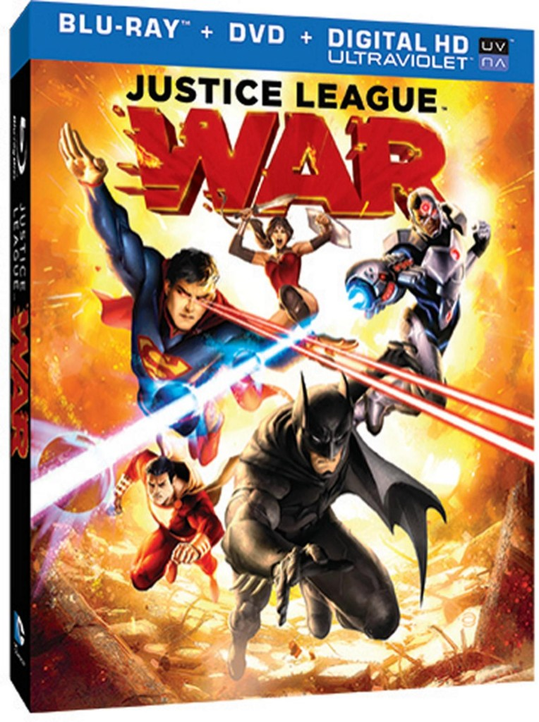 Justice League War blu-ray box