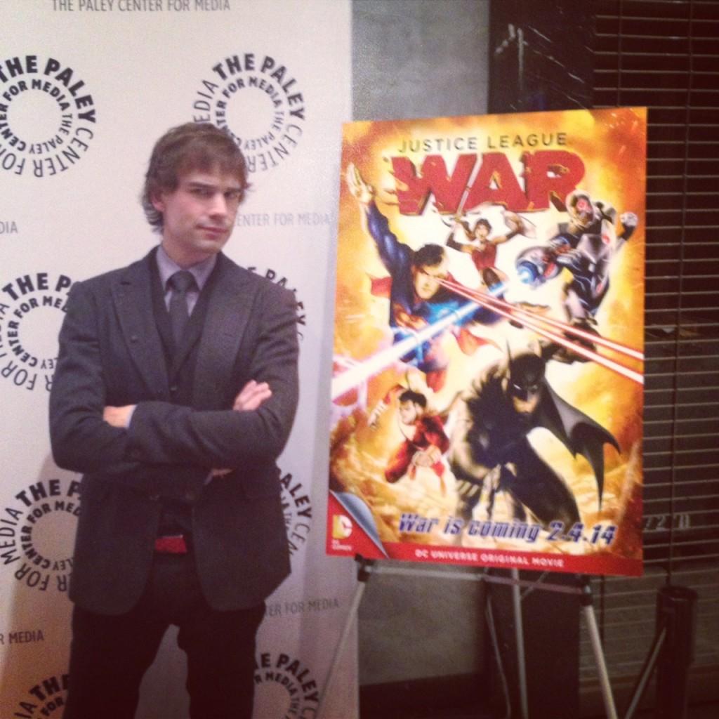 Chris Gorham Where's The Flash?