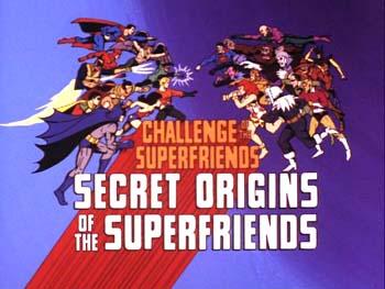 secret origins of the super friends