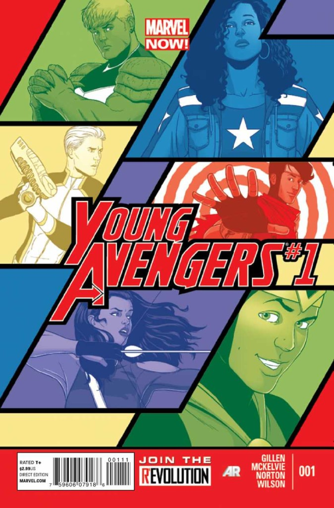 young avengers 1 cover