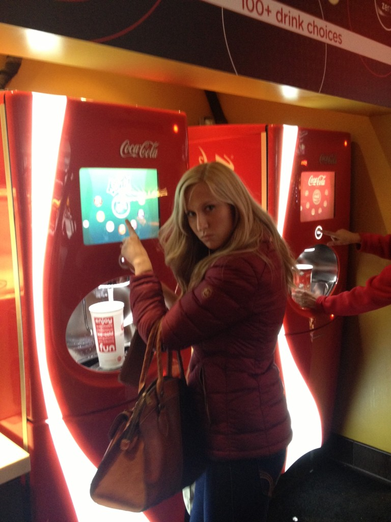 This is NOT the size soda you want to order for a 3 hour movie.