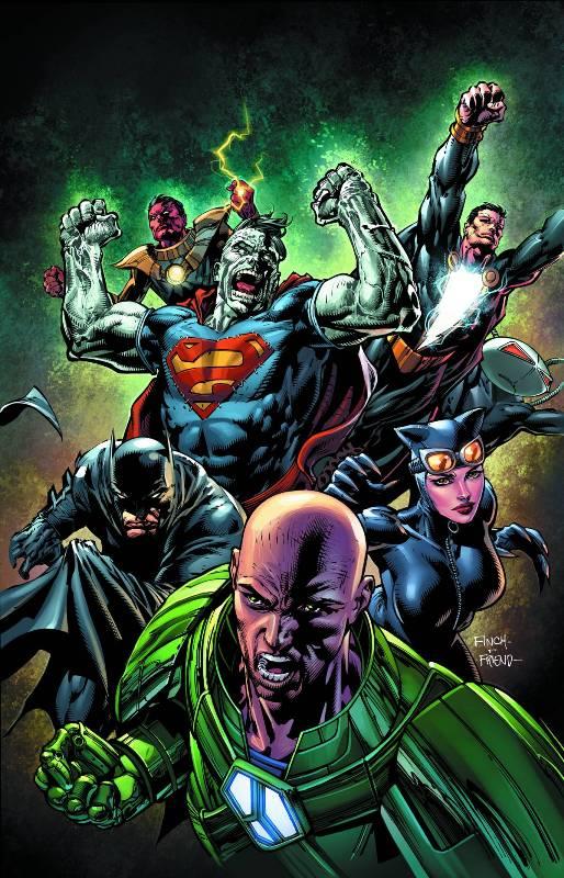 forever evil 5 cover