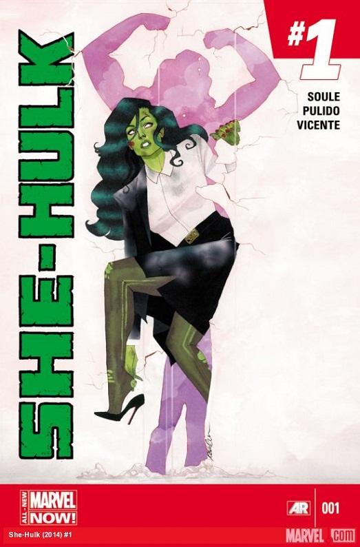 she hulk 1 cover