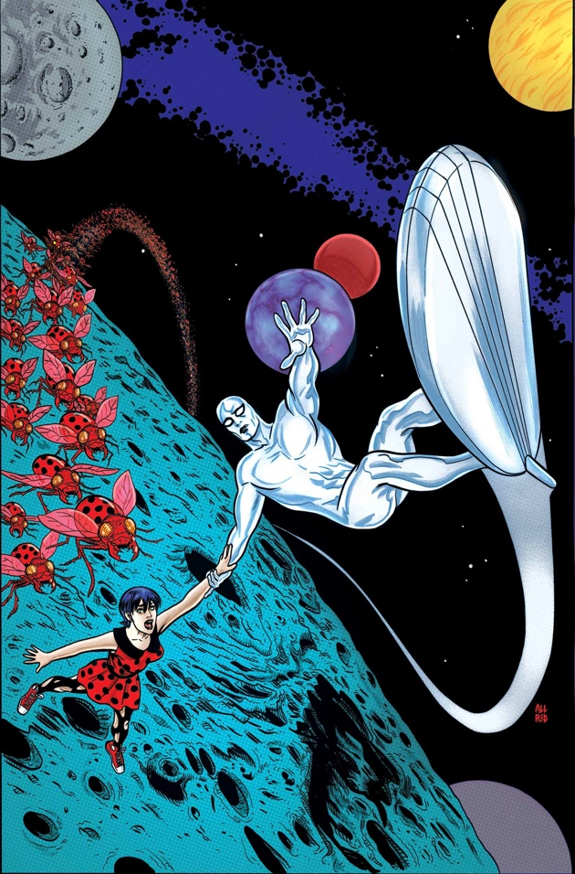 mike allred silver surfer