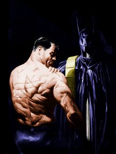 alex ross bruce wayne