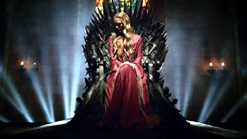 cersei iron throne game of thrones