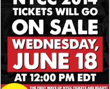 NYCC Tickets On Sale 6/18/14