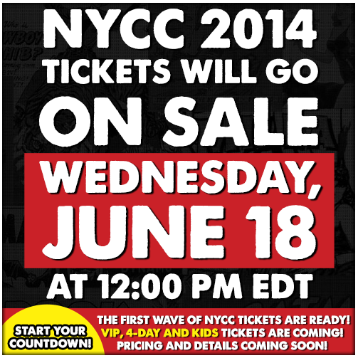 nycc 2014 ticket announcement