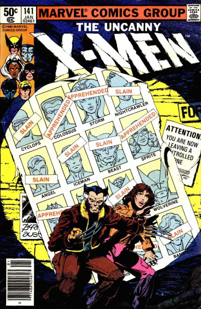 X-Men #141 has one of the most iconic covers of all time.
