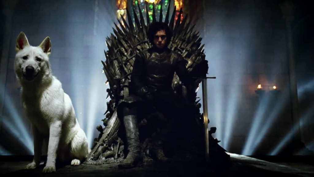 iron throne jon snow