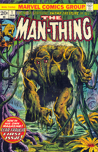 man thing 1 cover