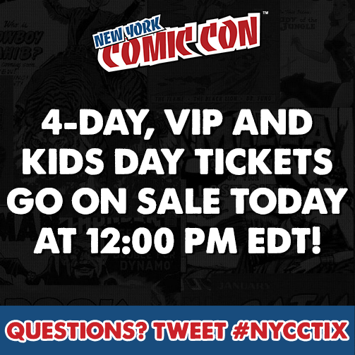 nycc 4day vip kids tix