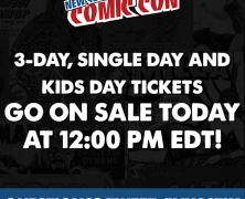 NYCC 3-Day Passes On Sale TODAY at 12 NOON!