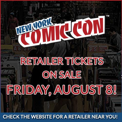 NYCC Retailer Tix