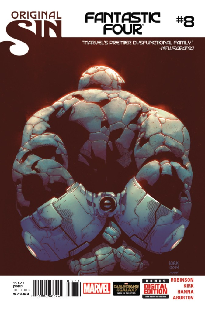 fantastic four 8 cover