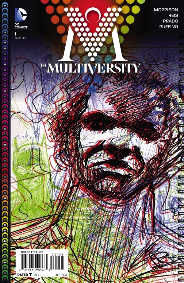 multiversity 1 cover morrison variant