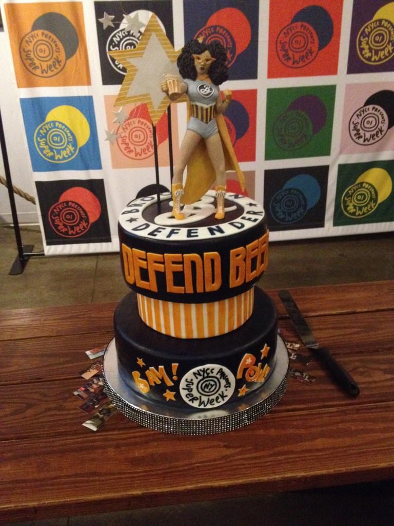Brooklyn Defender Amy Reeder cake