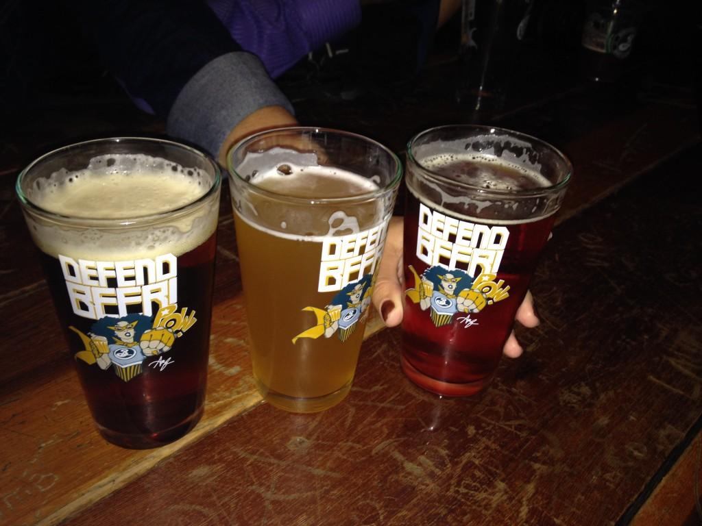 Brooklyn Defender beers