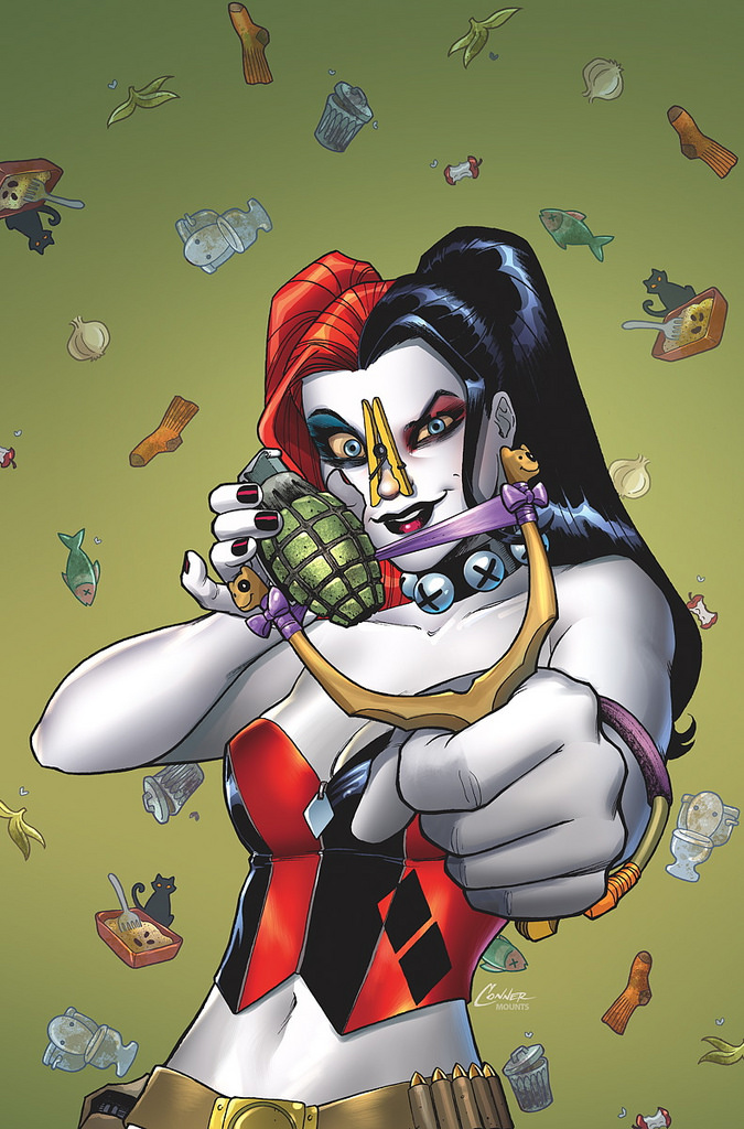 harley quinn annual cover