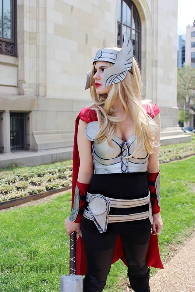 kim bishop cosplay thor