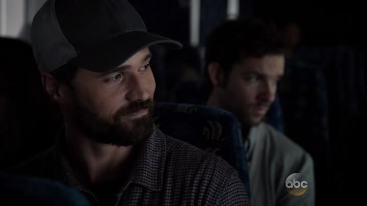 agents of shield the writing on the wall ward on a bus
