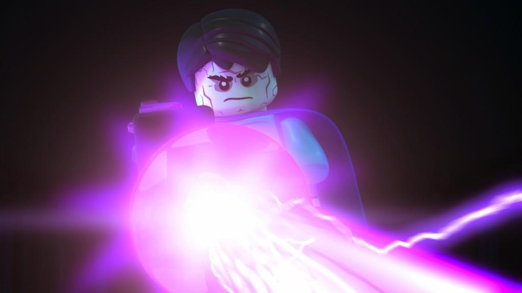 LegoJLBizarro-Bizarro firing ray