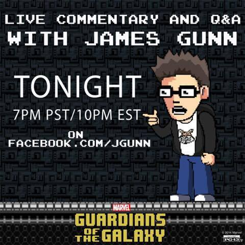 james gunn live commentary