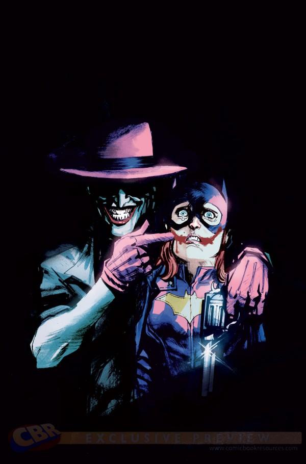 batgirl joker variant