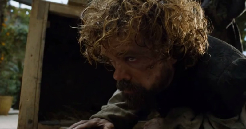game of thrones s5e1 tyrion and the crate