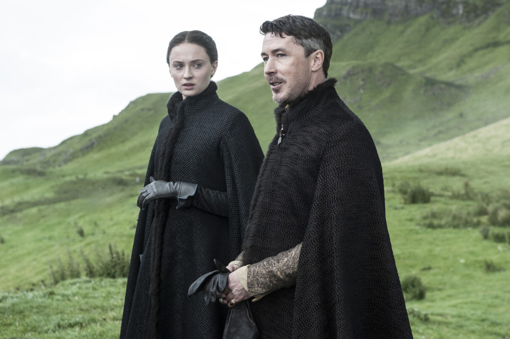 littlefinger and sansa