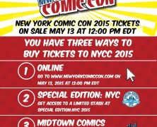 How To Buy NYCC Tickets!