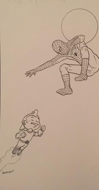 Geoff Darrow Spider-Man
