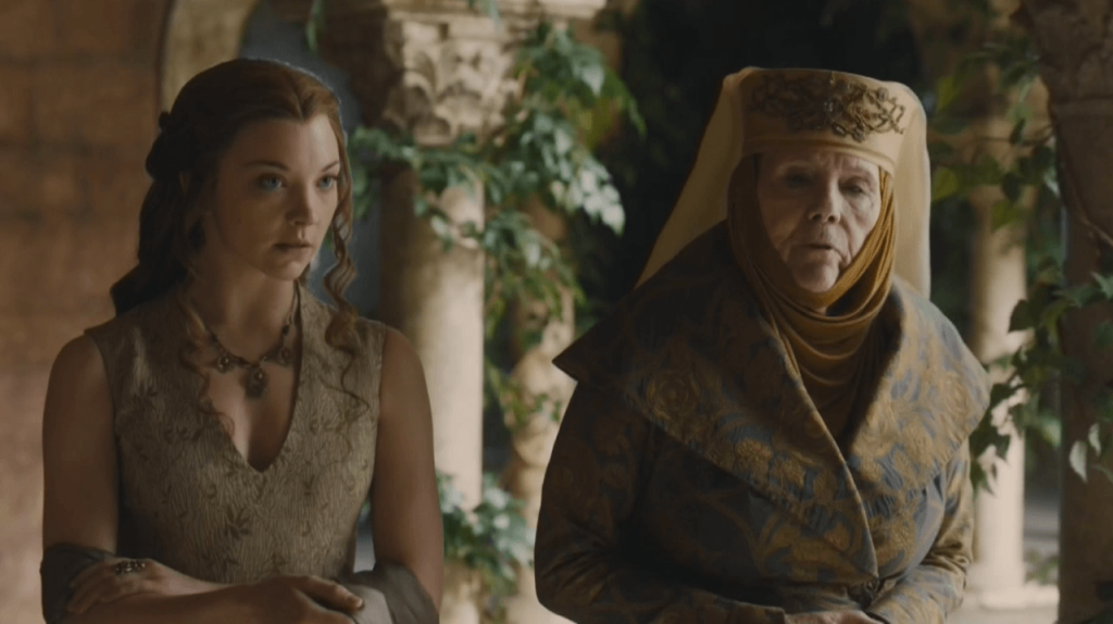 Game-of-Thrones-Preview-Unbowed-Unbent-Unbroken-marjorie and grandma