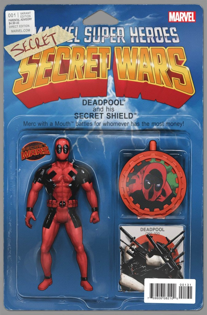 deadpool secret secret wars cover
