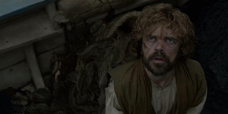 tyrion sees drogon