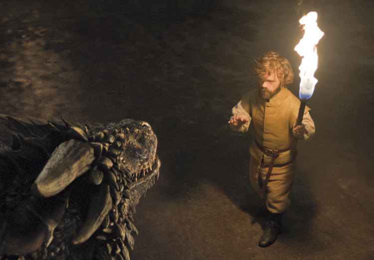 tyrion and the dragon