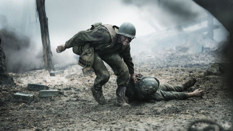 hacksaw ridge dragging body