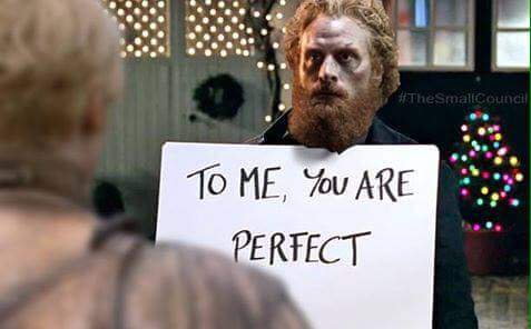 tormund brienne love actually